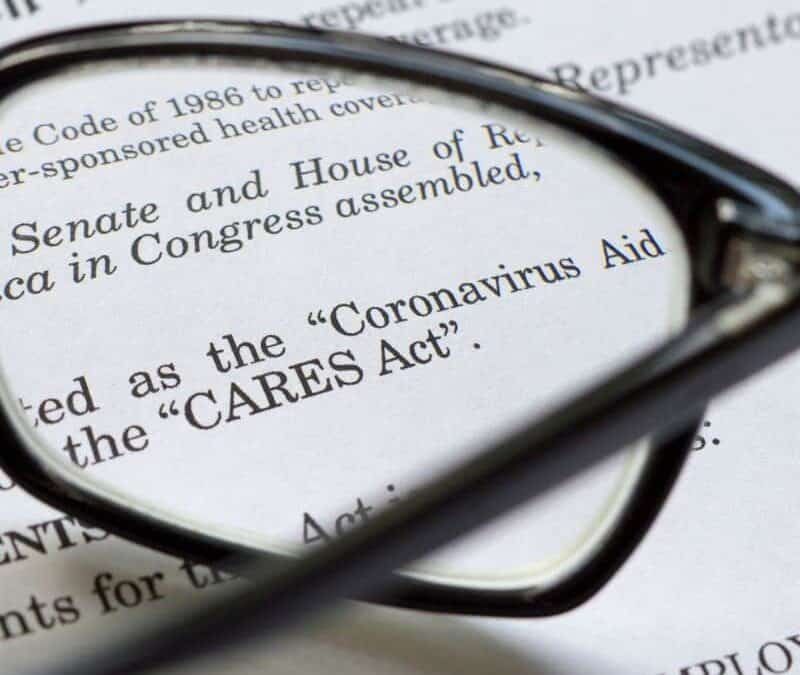 The CARES Act Charitable Giving Deductions